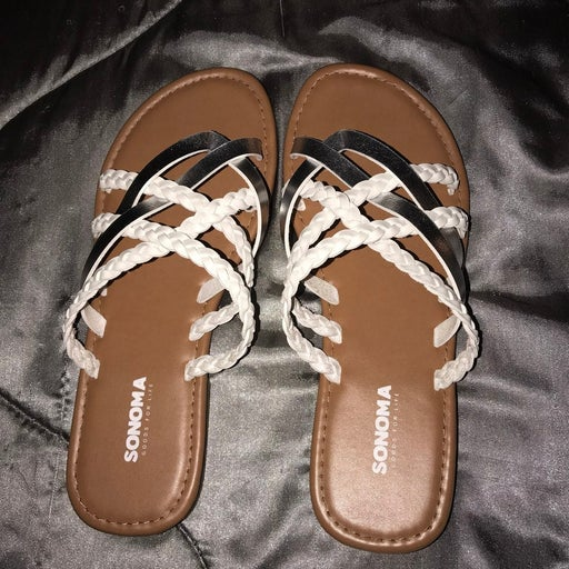 Strappy braided Sandals 8