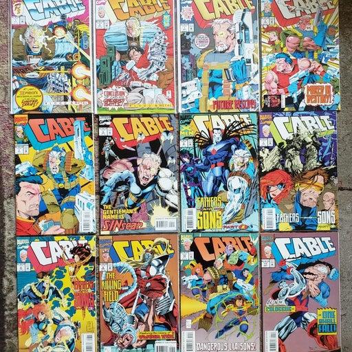 Cable Marvel Comics Lot of 55 Comics