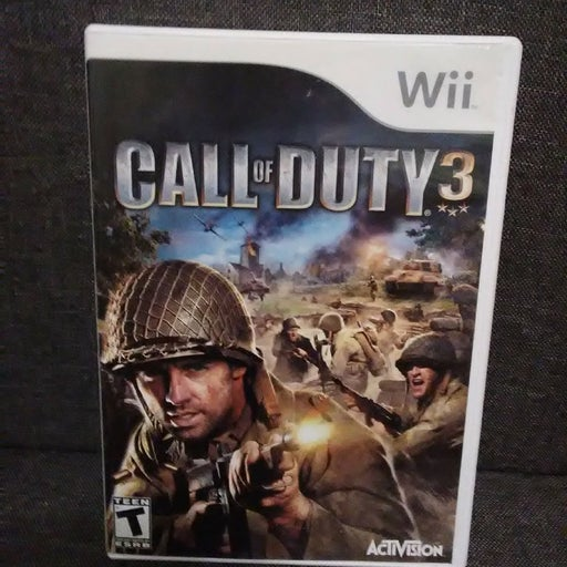 Call of Duty 3 on Nintendo Wii