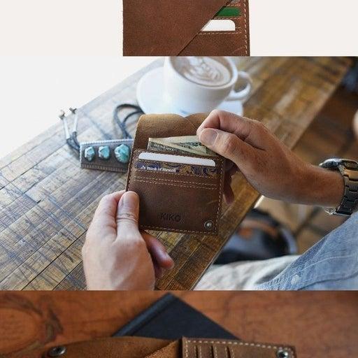 Kiko leather wallet