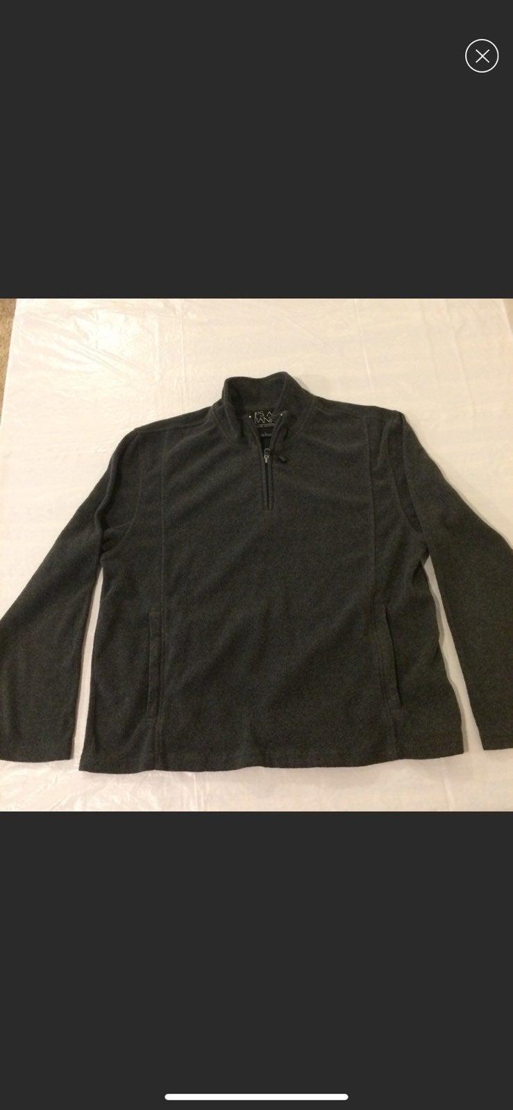 Jos A Bank Classic 1/4 Zip Fleece Jacket
