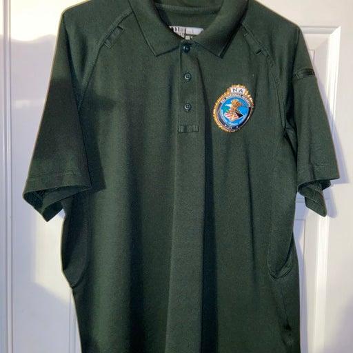 Men's FBI Collared Shirt