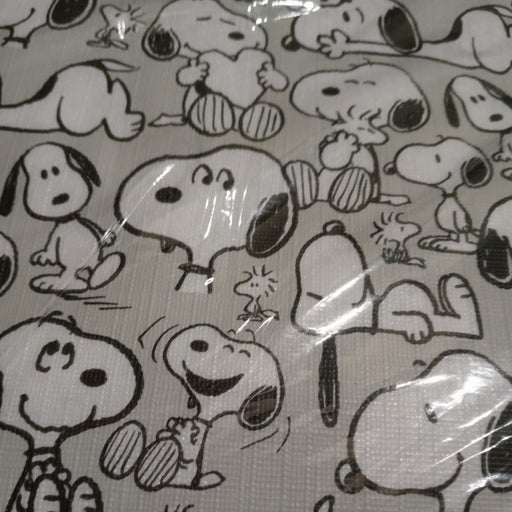 """Peanuts Snoopy Tablecloth 70"""" Round"""