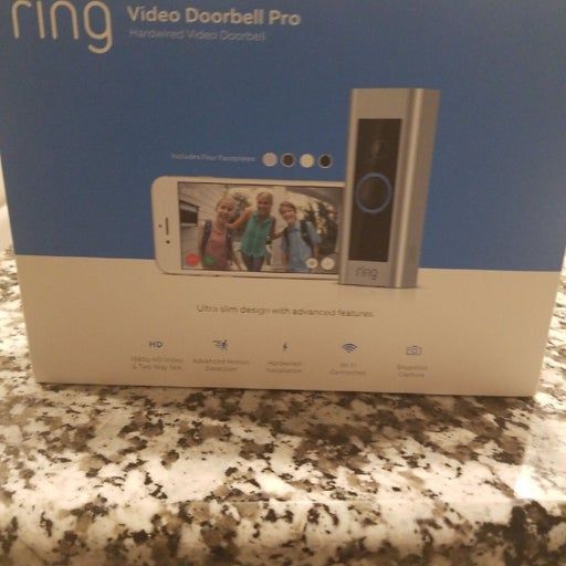 Ring video doorbell pro hardwired brand