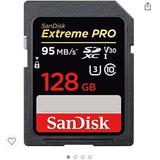 128 GB HIGH SPEED SD CARD