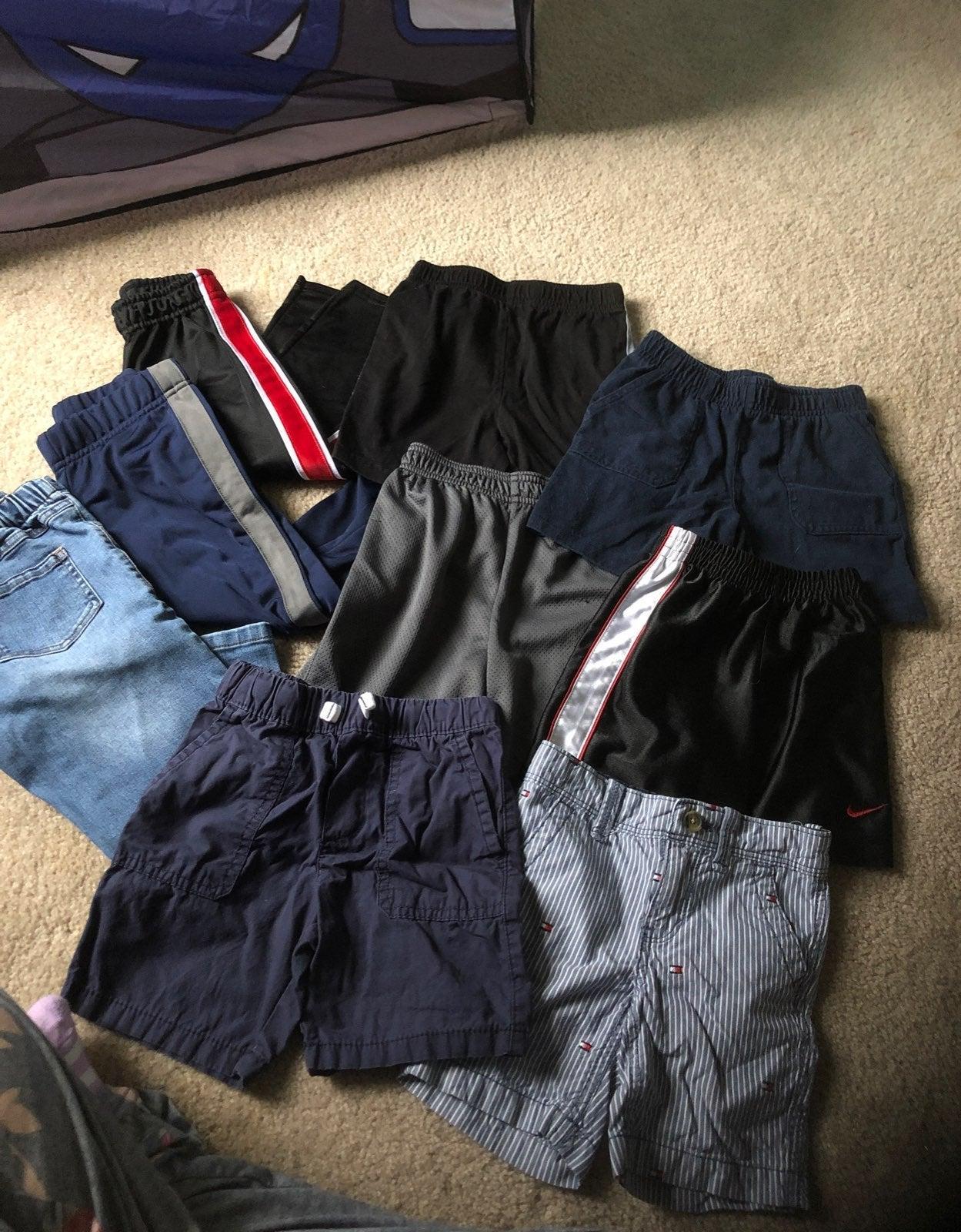 Boys pants and shorts lot