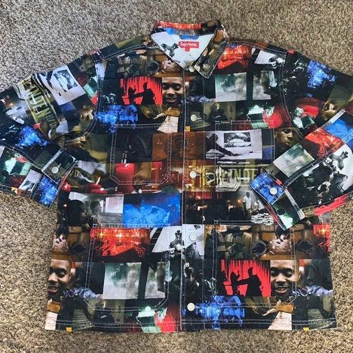 Supreme Nas DMX Collage Denim Jacket