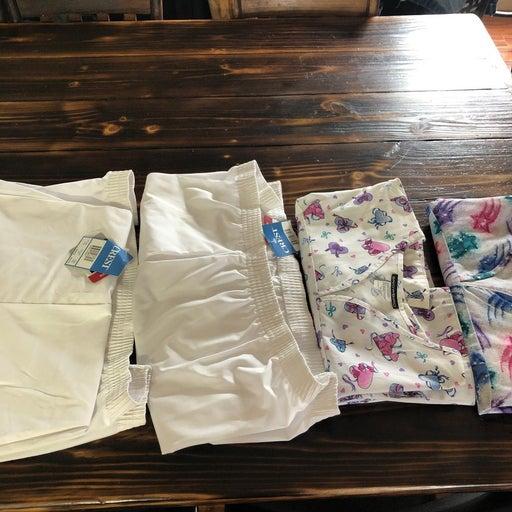 2 pairs of scrubs
