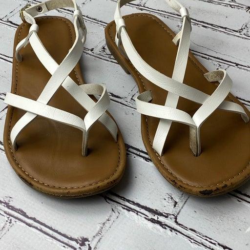 Sonoma Good For Life Womans Multi Strap White Sandals Size 7 Open Toe