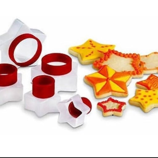 Star 5 Cuisipro Snap fit cookie cutters