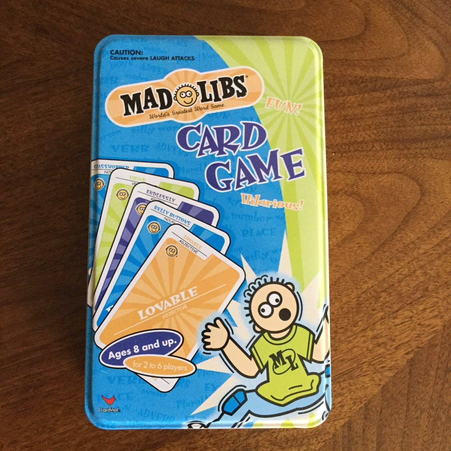 Mad Libs Card Game New