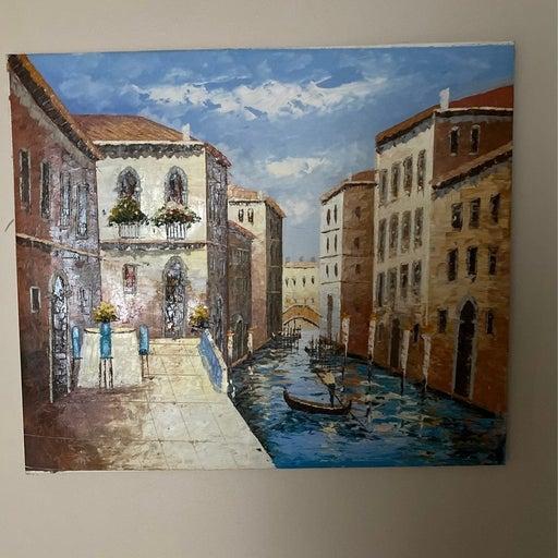 Venice oil painting canvas wall art