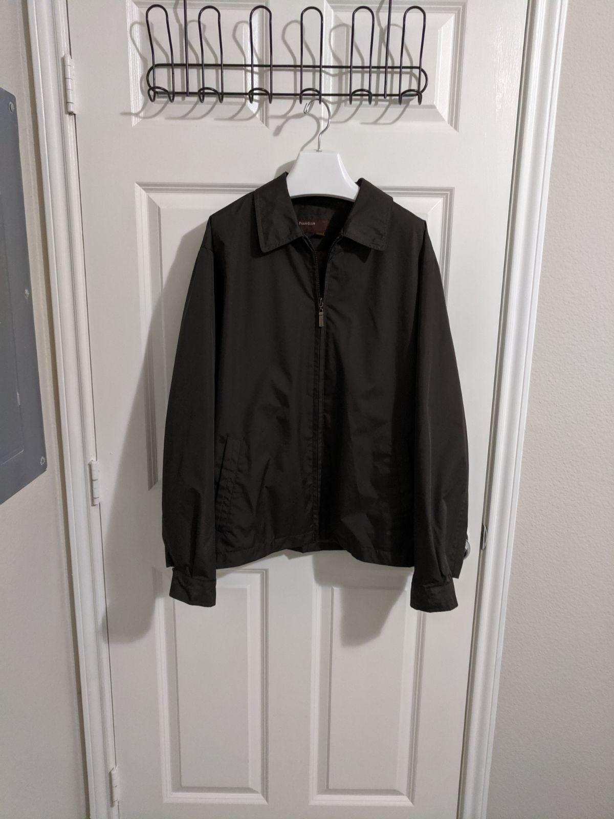 Perry Ellis Aviator Windbreaker Jacket M