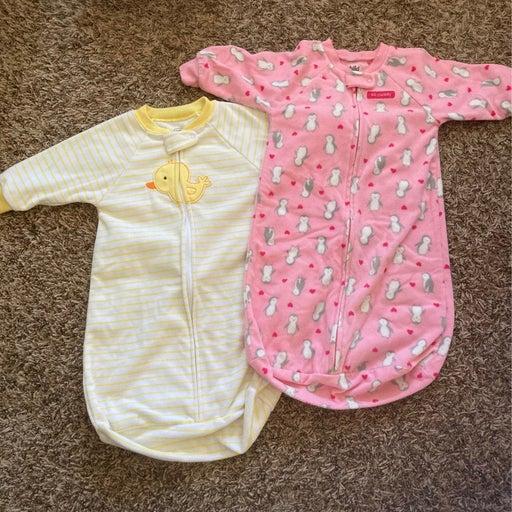 sleep sack bundle girls newborn to 9 months