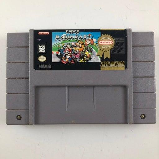 Super Mario Kart on Nintendo Super SNES