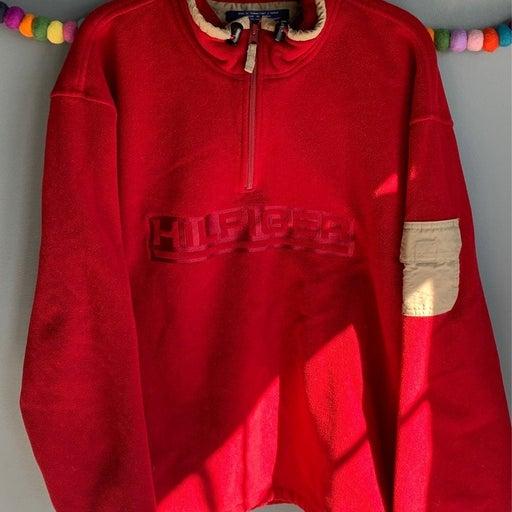 Vintage Tommy Hilfiger fleece 1/4 zip