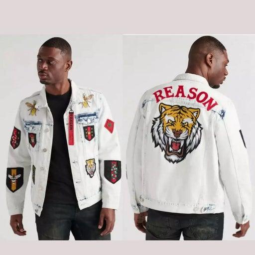 denim jacket men large