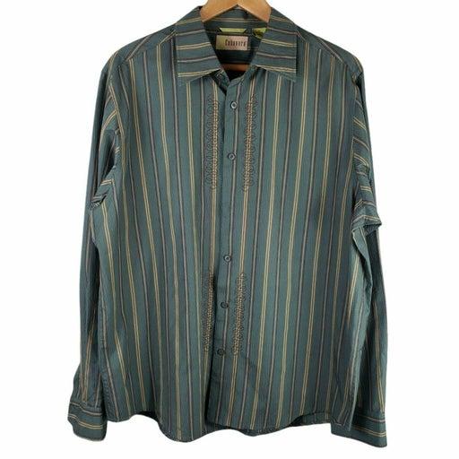 Cubavera Silk Blend Shirt Size XL