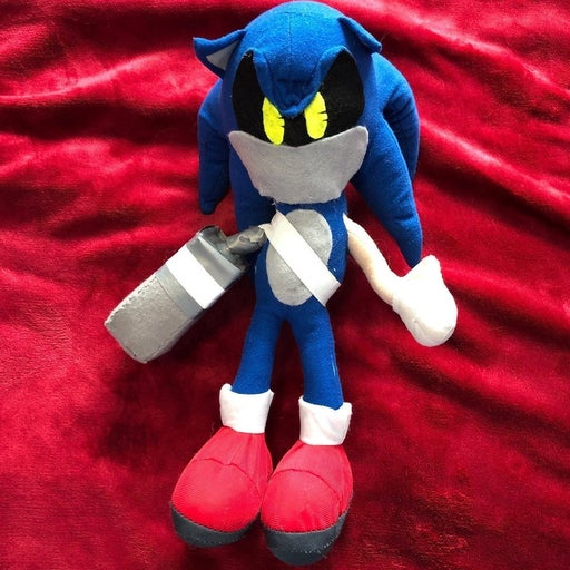 "CUSTOM Robot Toy Network 14"" Sonic Plush"