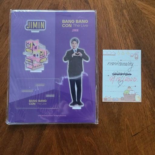 BTS Bangbangcon Jimin Acrylic Stand
