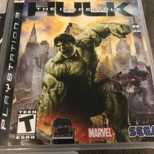 the increadable hulk ps3