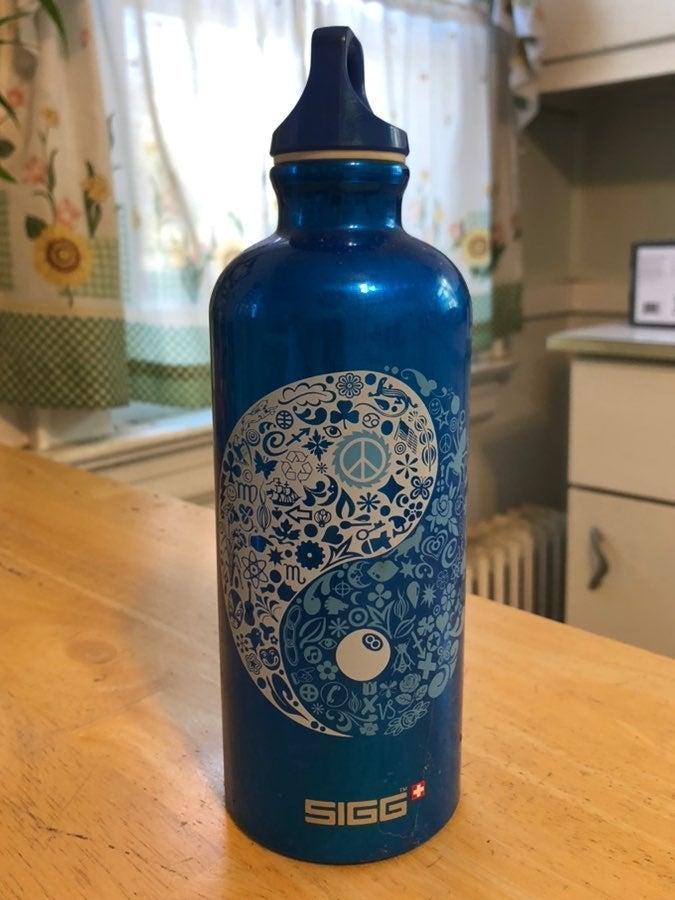 Sigg Yin Yang Aluminum Water Bottle