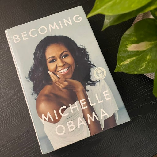 Becoming: Michelle Obama book
