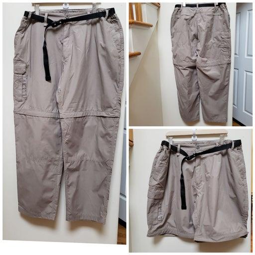 Hiking Convertible Pant Note Measurement