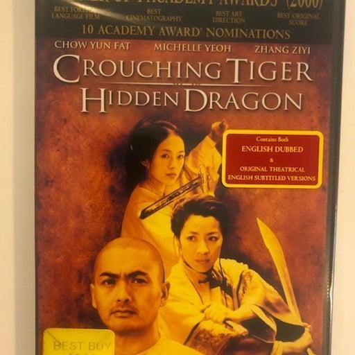 Crouching Tiger Hidden Dragon DVD English Dubbed & Subtitle Version NEW!