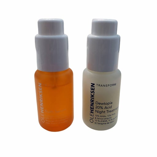 Olehenriksen Truth Serum & Dewtopia 20% Acid Night Treatment Duo