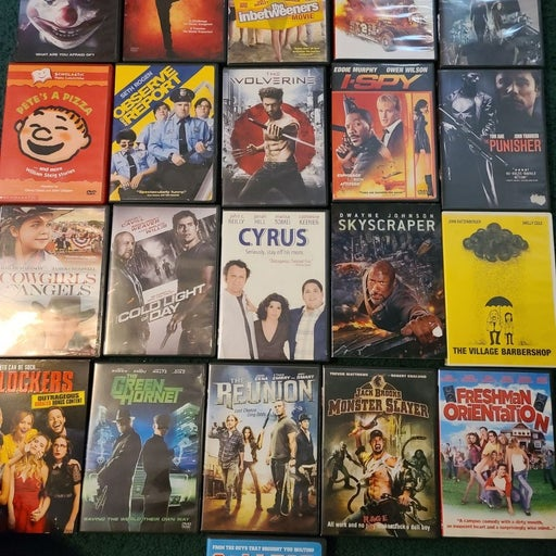 DVD'S 21 Total