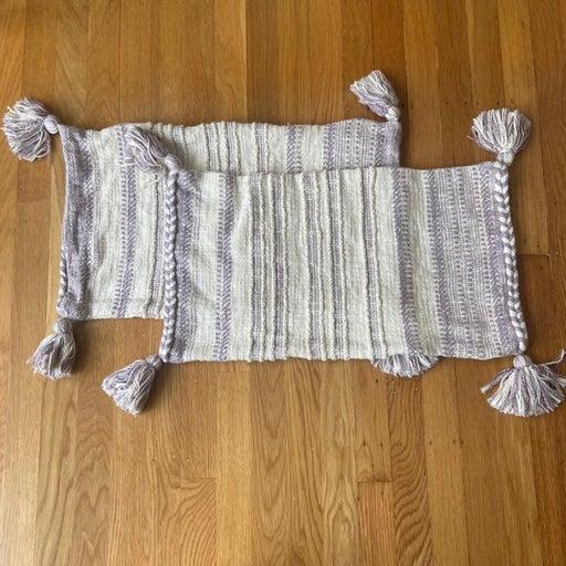 Set of Serena & Lily Ridge Stripe Pillow Cover
