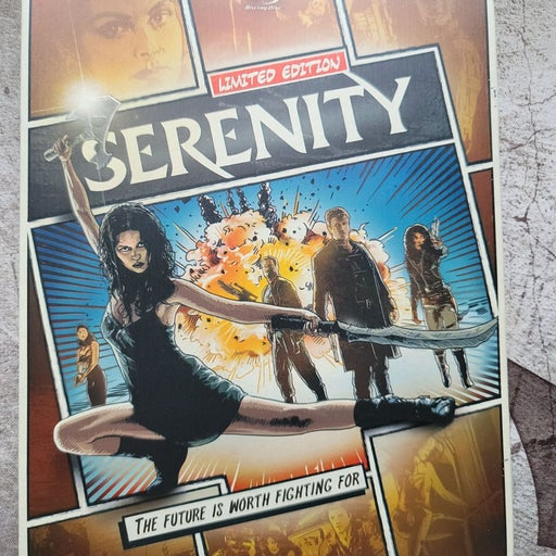 Serenity bluray steelbook