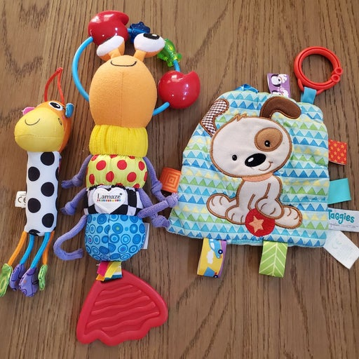 Lamaze and Taggies Toys