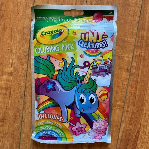 15 pack Crayola Coloring Book Party Favors, Uni-Creatures