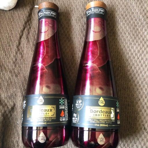 TAL Bordeaux Steel Bottle