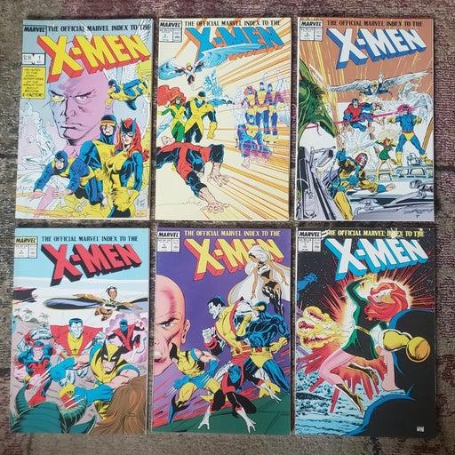 Marvel Official Index to X-Men Vol 1-5,7