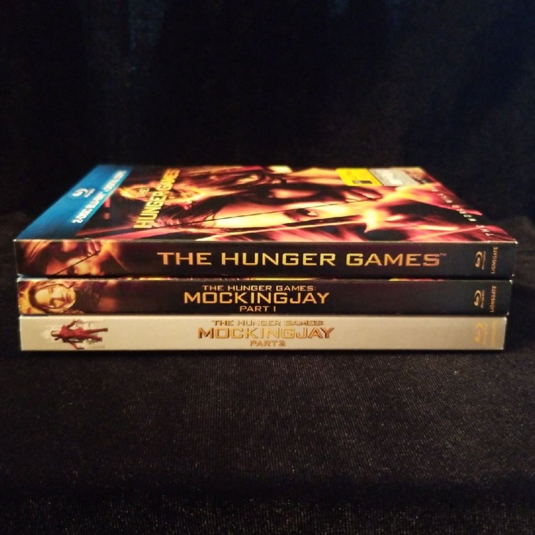 Hunger Games Blu-Ray DVDs New (3 Movies)