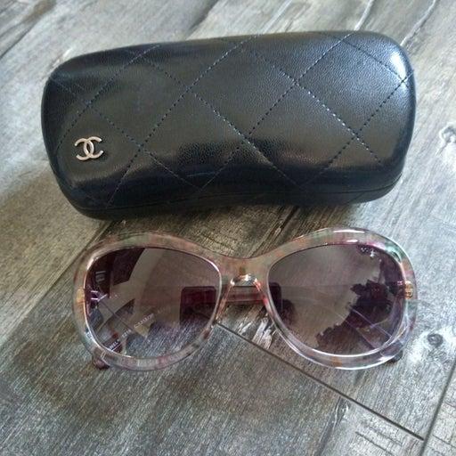 Chanel yellow sunglasses for women