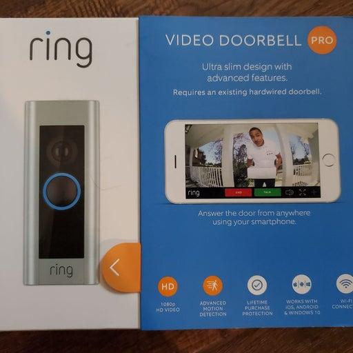 NEW Ring Video Doorbell Pro
