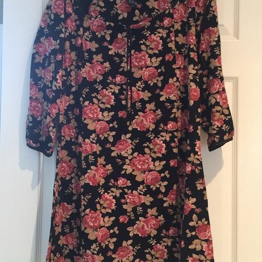 Floral house Dress
