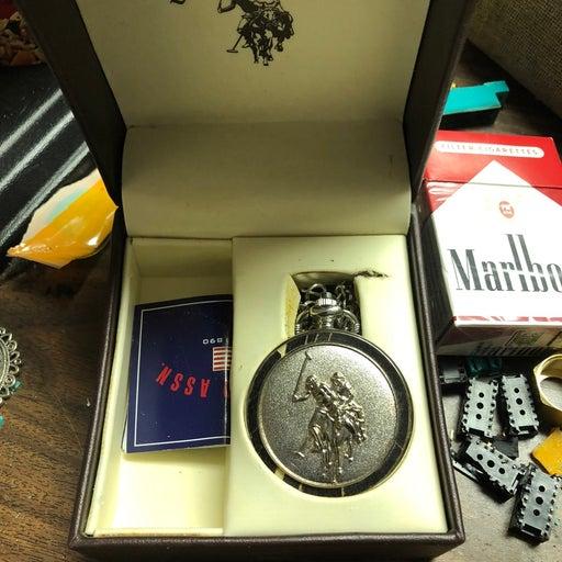 U.S. Polo Assn. pocket watch