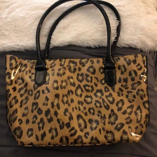 Ralph Lauren Cheetah Purse