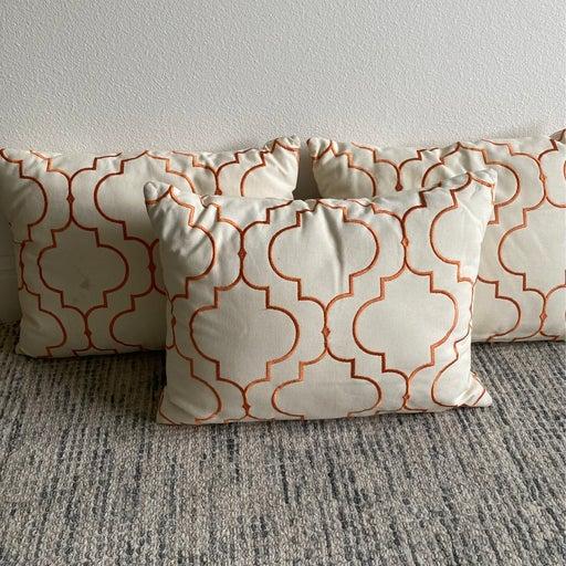 Set of Three Custom Pillows