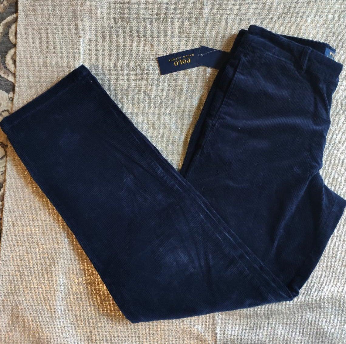 Polo Ralph Lauren courdoroy blue Pants