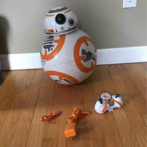 Life size BB8. Functional- missing antenna that is decorative only