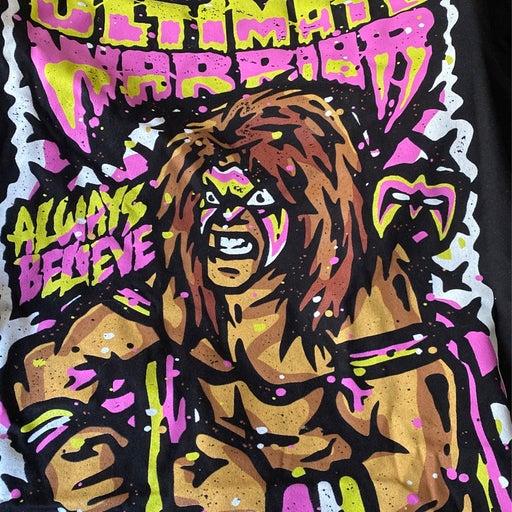ultimate warrior alway Belive t-shrit 2
