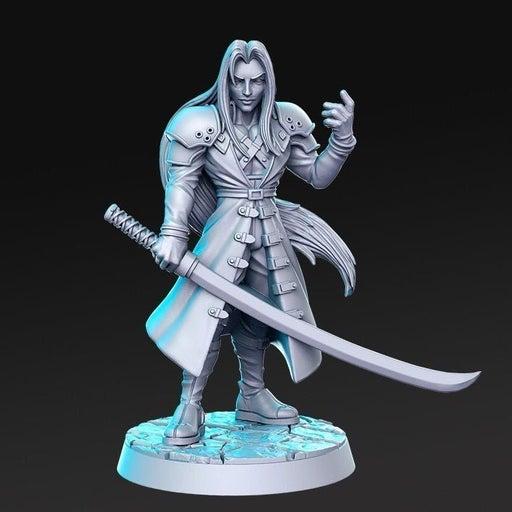 Sephiroth 40mm Miniature, Warhammer, D&D