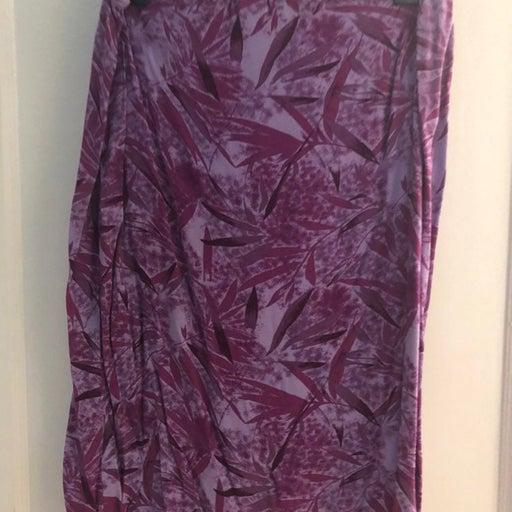 Purple Womens Skirt