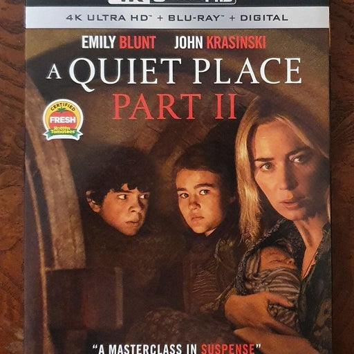 A Quiet Place Part II 4K + Blu-ray + DC